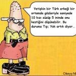 Yetişkin bir türk erkeği