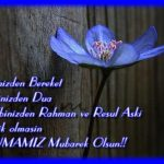 Evinizden berebeket dilinizden dua kalbinizden rahman
